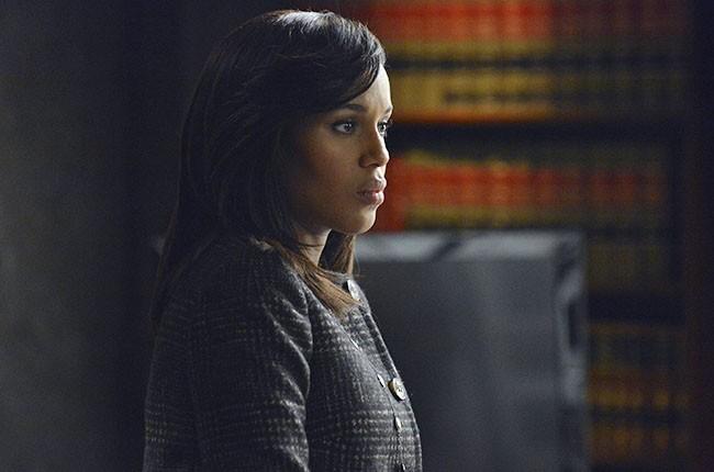 Kerry Washington as Olivia Pope on Scandal
