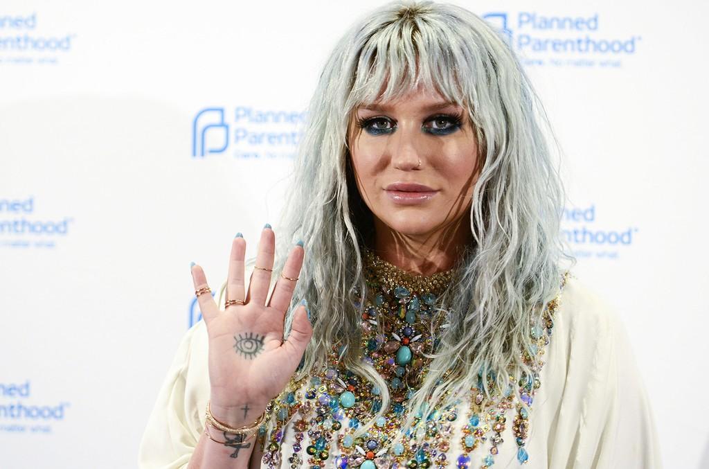 Kesha arrives at the 2016 Planned Parenthood Annual Gala at Washington Hilton on June 9, 2016 in Washington, DC.