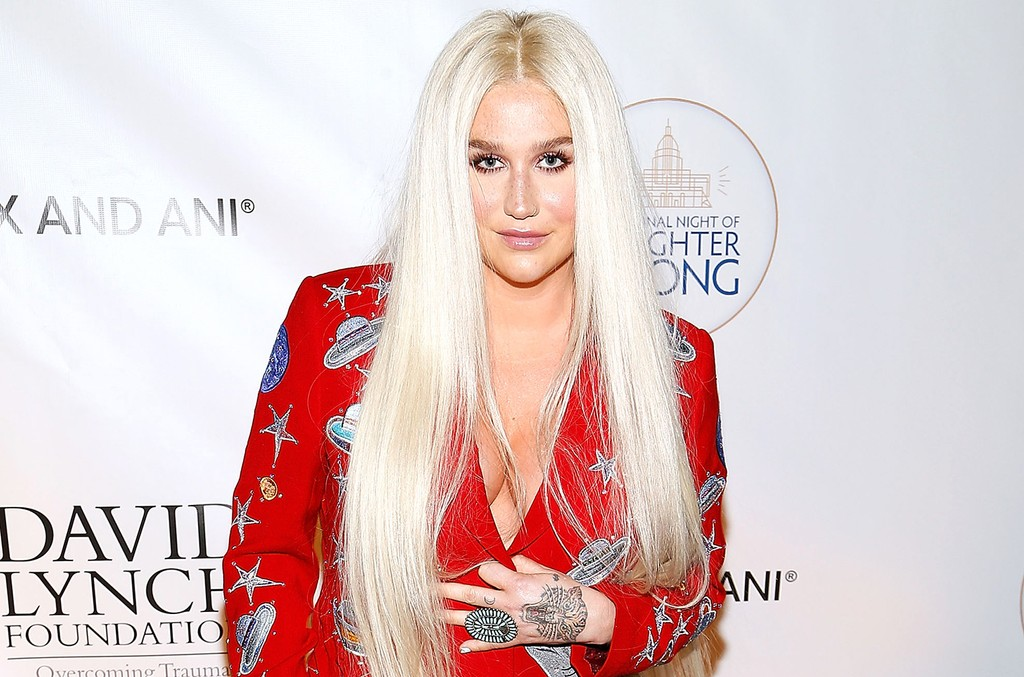 Kesha attends the National Night of Laughter and Song event hosted by David Lynch Foundation at the John F. Kennedy Center for the Performing Arts on June 5, 2017 in Washington, DC.