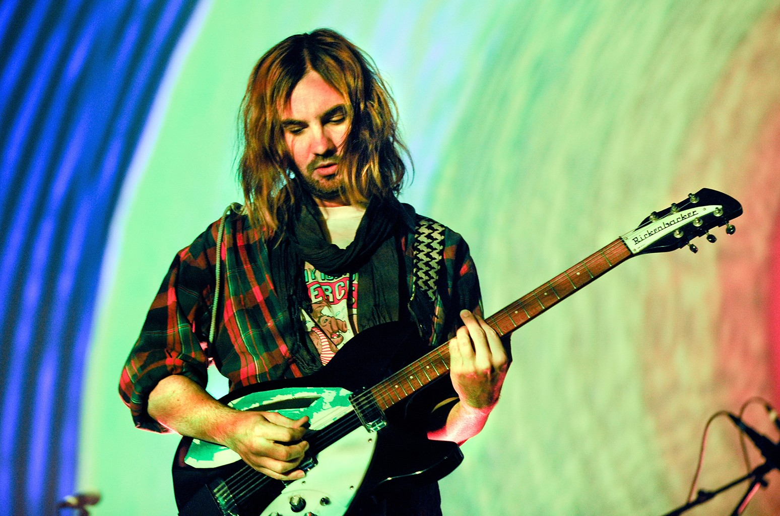 Kevin Parker of Tame Impala, 2016