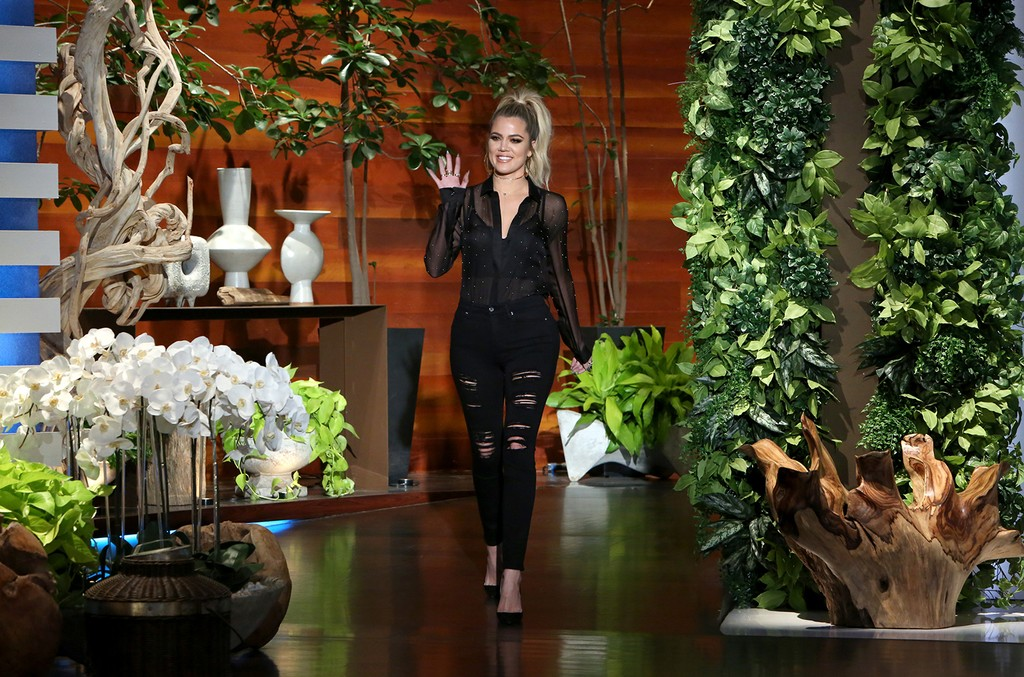 Khloe Kardashian on The Ellen DeGeneres Show