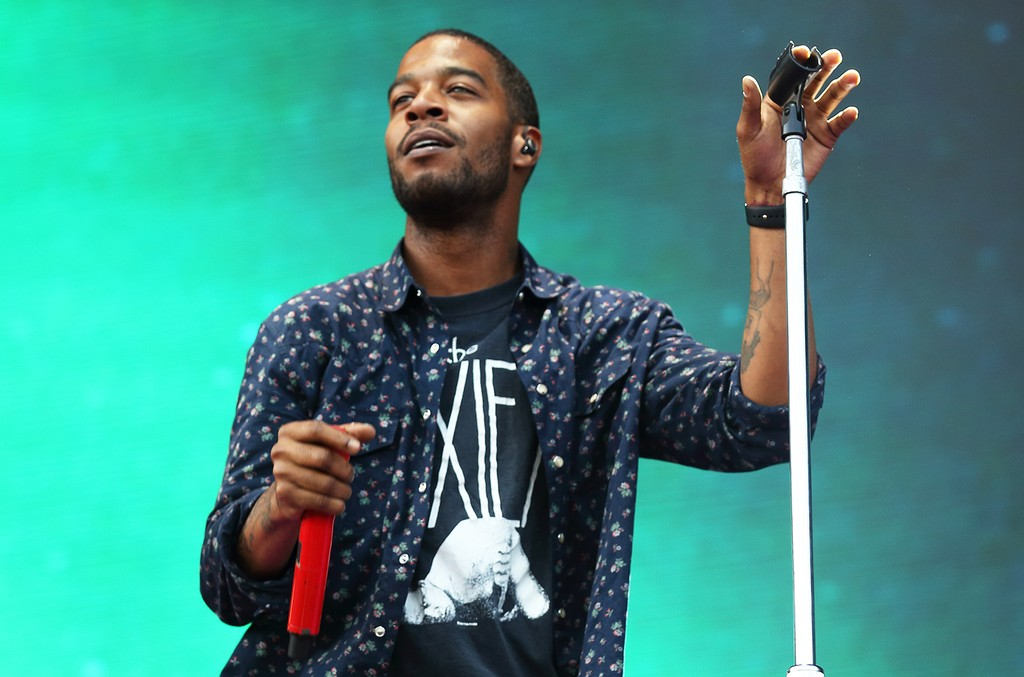 Kid Cudi performs at the Lollapalooza 2015