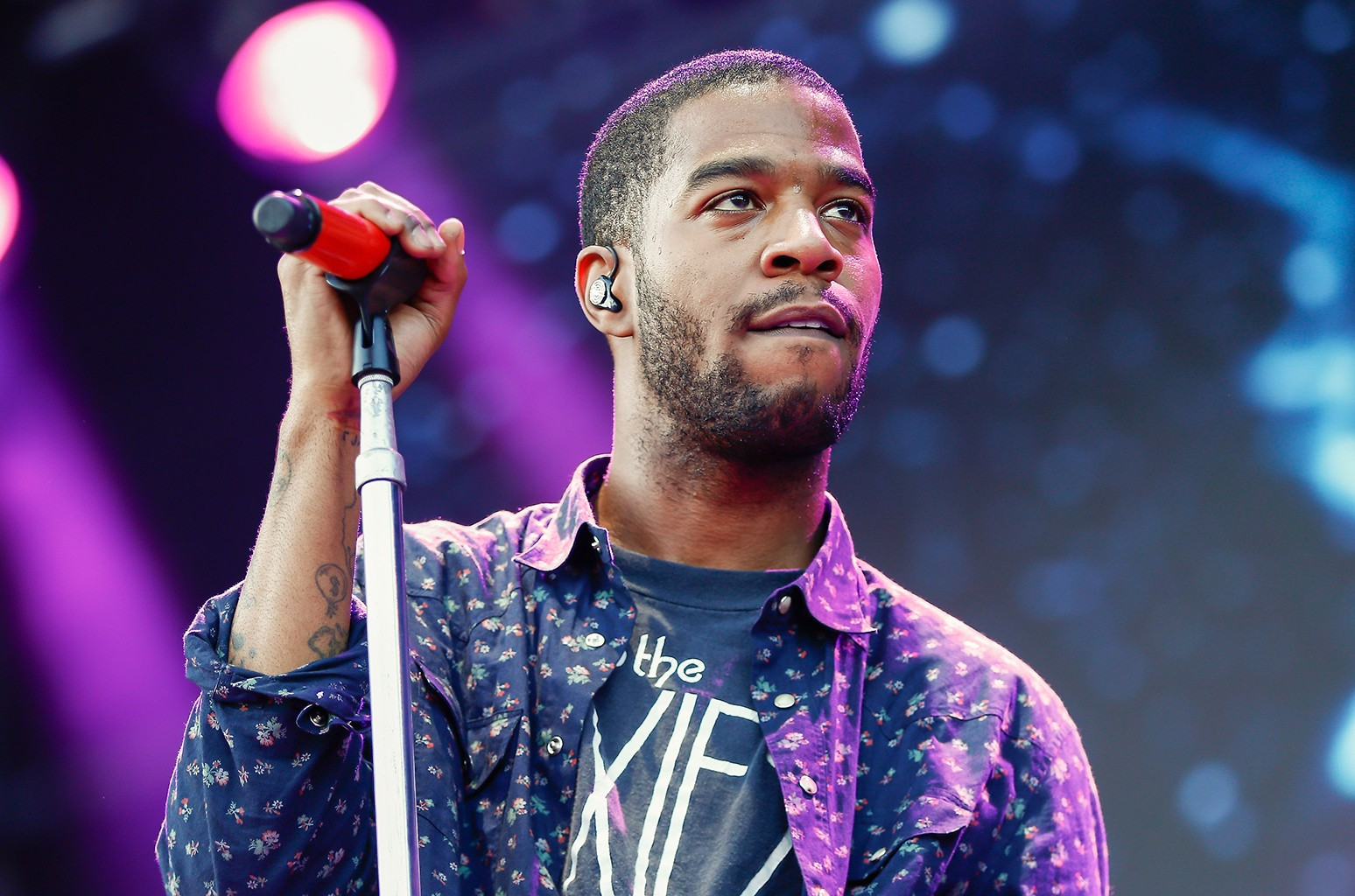 Kid Cudi performs at 2015 Lollapalooza