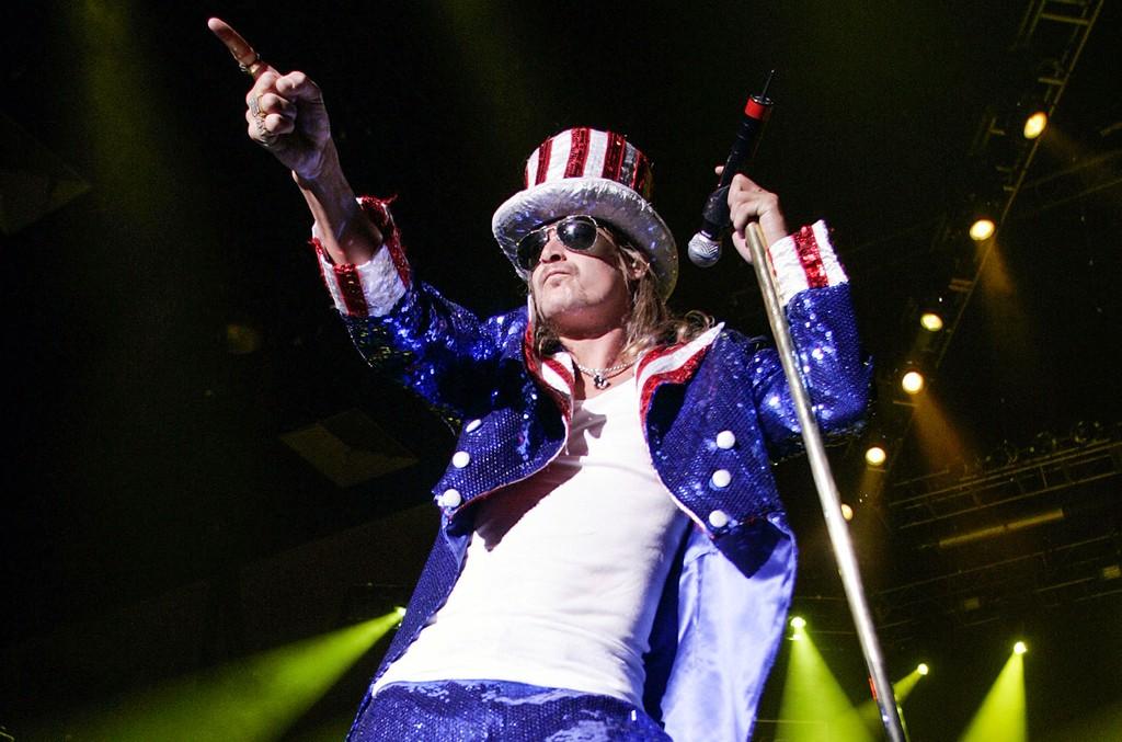 Kid Rock performs at Trump Taj Mahal Casino on the 4th of July.