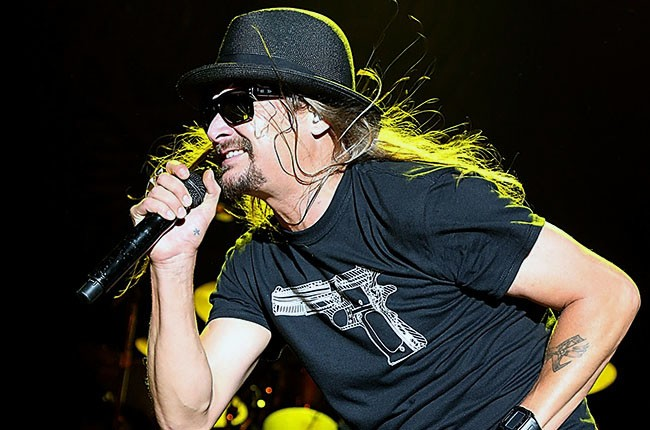 Kid Rock performs in concert during the River City RockFest