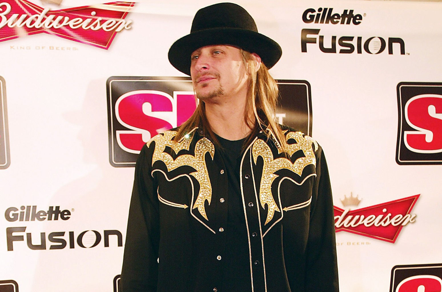 Kid Rock attends the Super Bowl XL Sports Illustrated Swimsuit Party on Feb. 4, 2006 in Detroit.