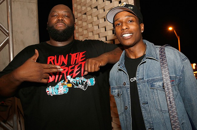 Run The Jewels and A$AP Rocky attend the Samsung Level Up After Party