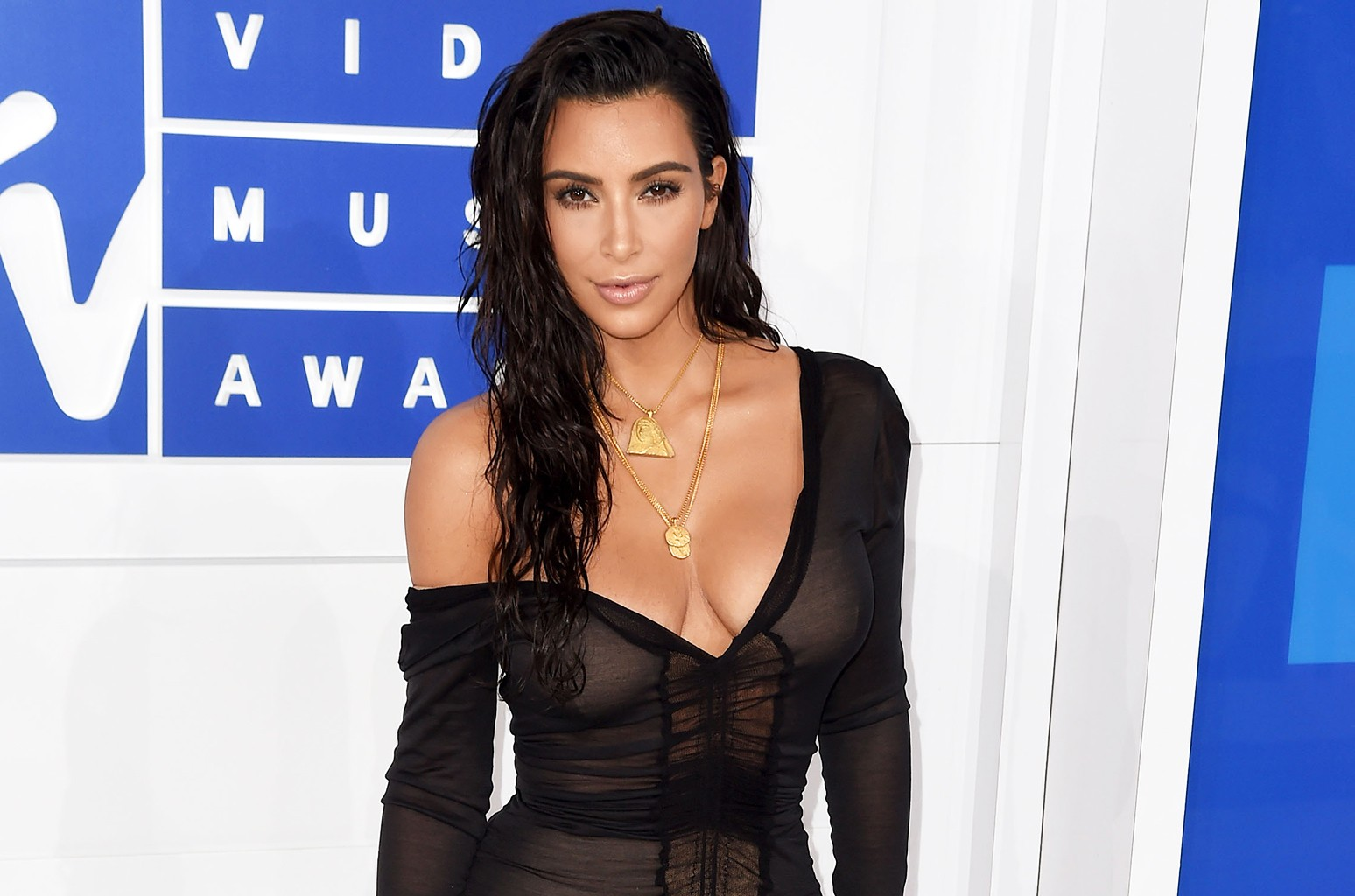 Kim Kardashian West attends the 2016 MTV Video Music Awards at Madison Square Garden on Aug. 28, 2016 in New York City.