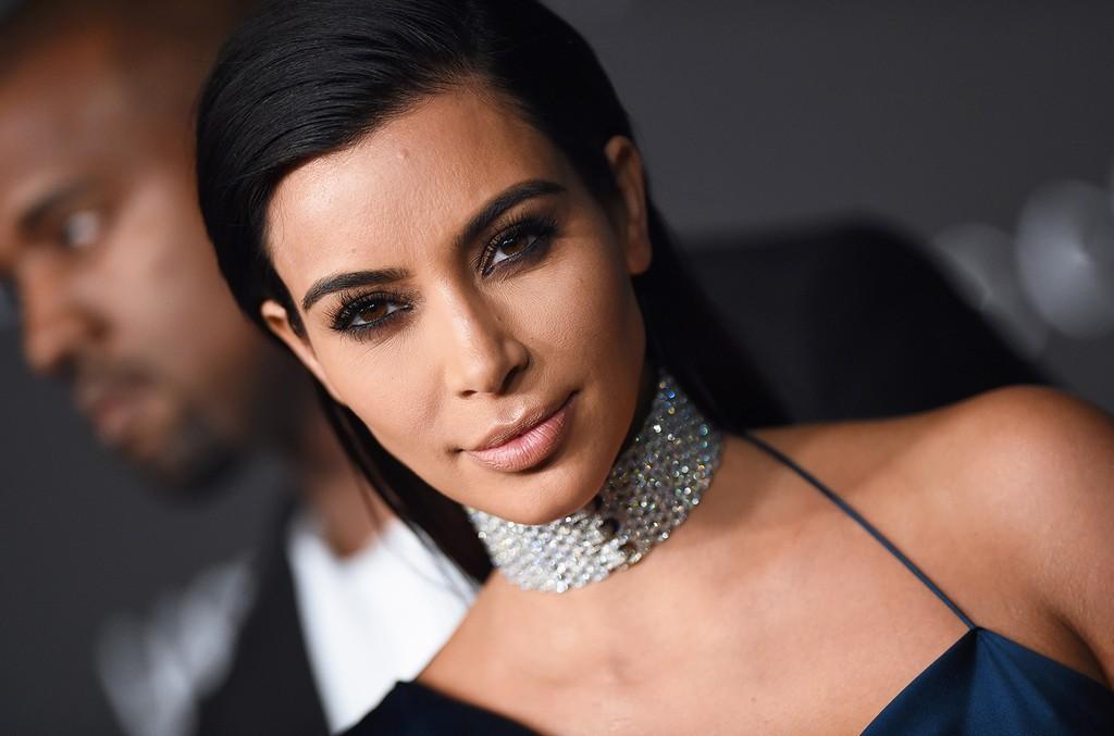 Kim Kardashian in Los Angeles