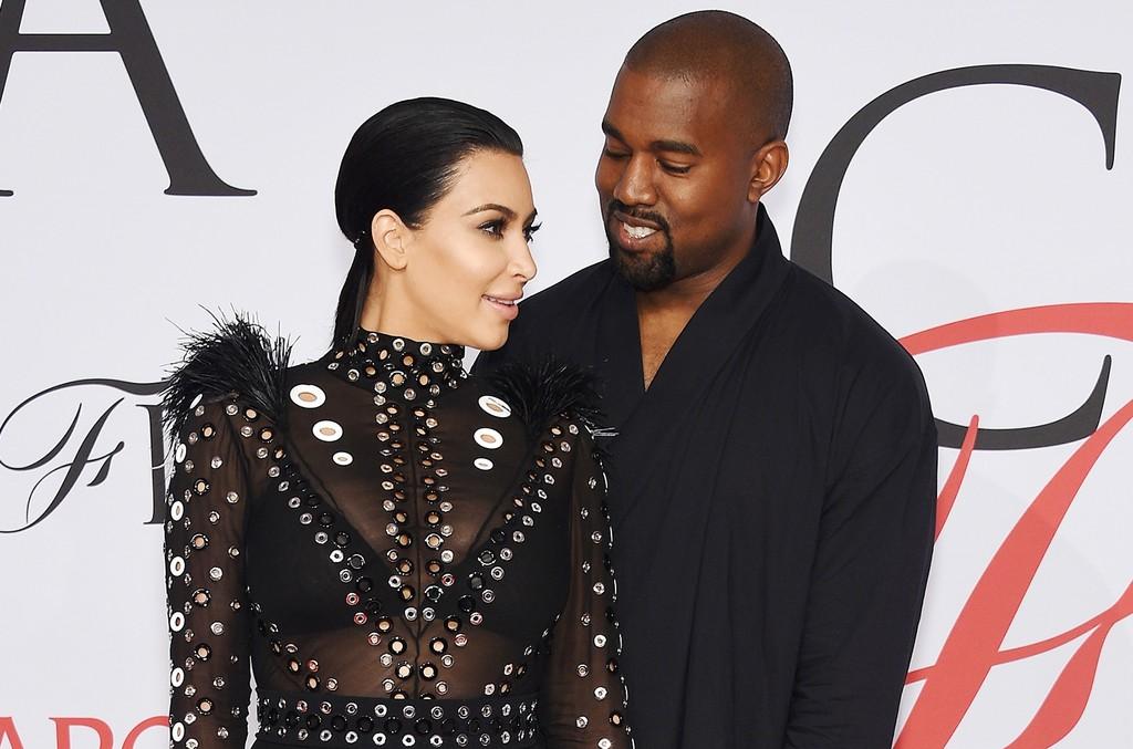 Kim Kardashian & Kanye West, 2015