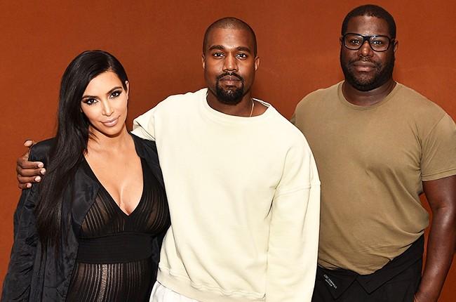 Kim Kardashian Kayne West Steve McQueen LACMA All Day/I Feel Like That 2015