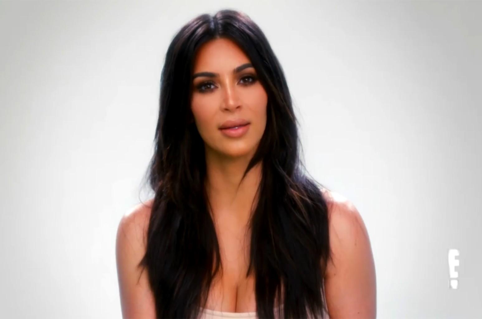 Kim Kardashian on Keeping Up With the Kardashians.