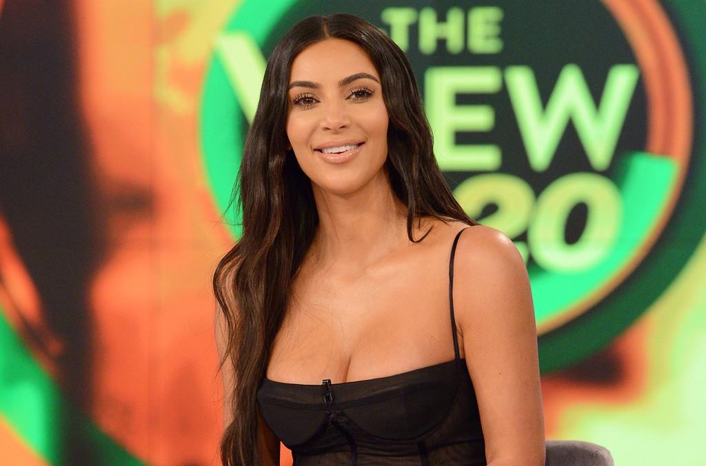 Kim Kardashian West on ABC's The View on June 20, 2017.