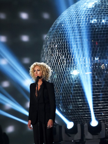 Kimberly Schlapman of Little Big Town performs onstage during the 50th Academy Of Country Music Awards