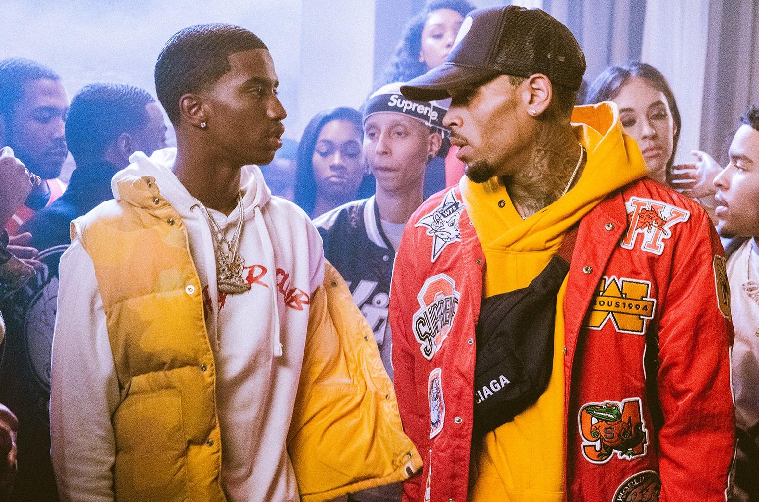 King Combs and Chris Brown