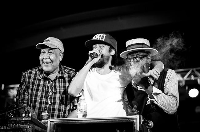 King Jammys, Damian Marley and Shinehead