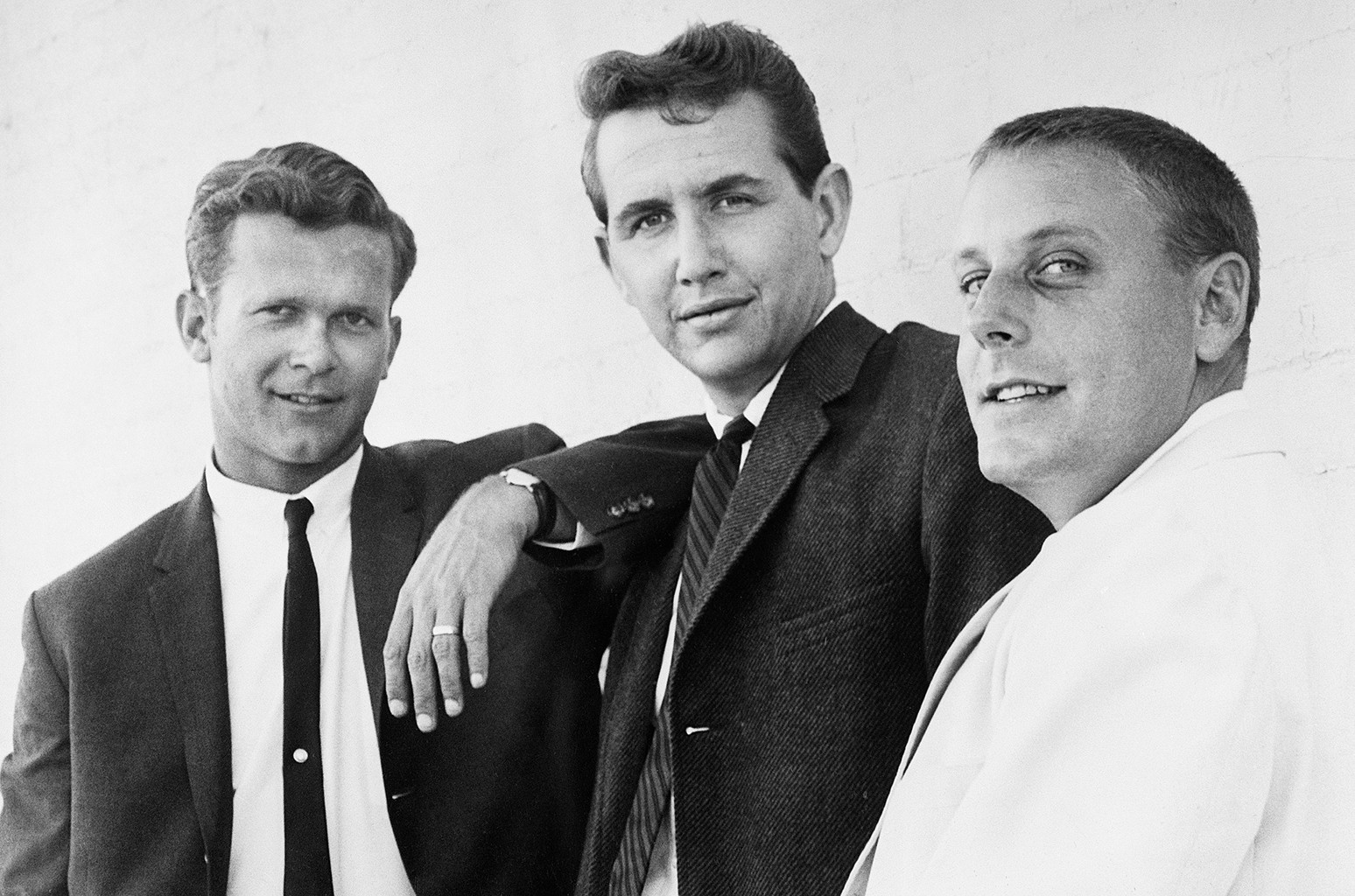 Bob Shane, John Stewart and Nick Reynolds of Kingston Trio