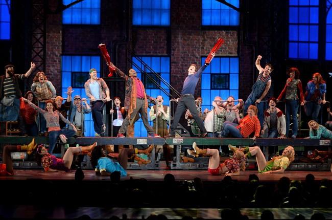 'Kinky Boots' cast performs at the Tony Awards, 2013