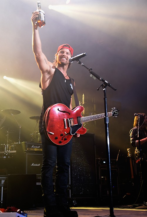 Kip Moore performs during Q Fest at Freedom Hal