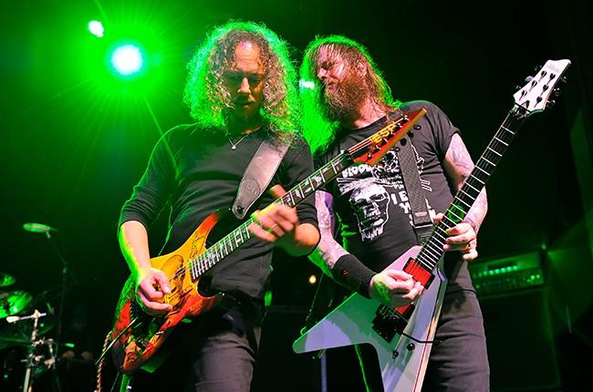 Kirk Hammett and Exodus