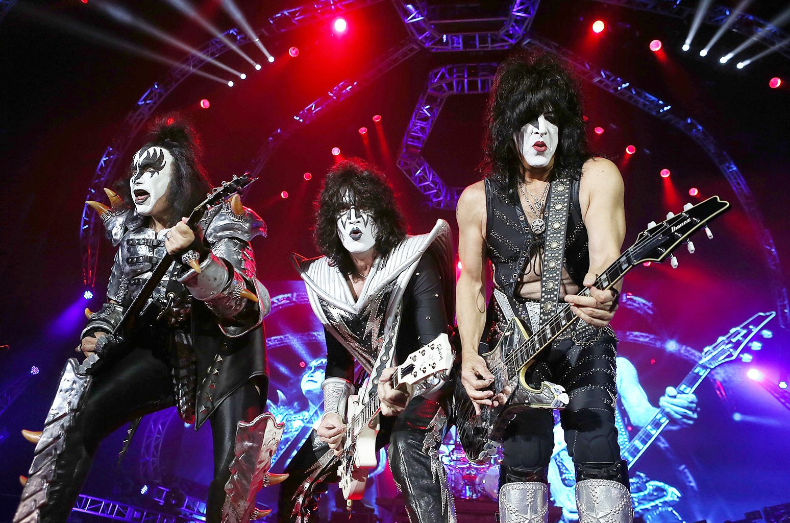 KISS perform at Perth Arena on Oct. 3, 2015.