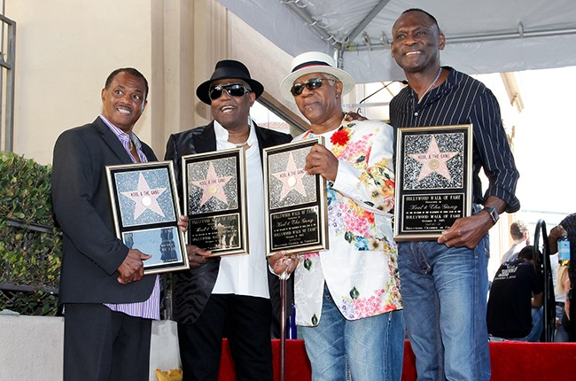 Kool & The Gang on The Hollywood Walk of Fame