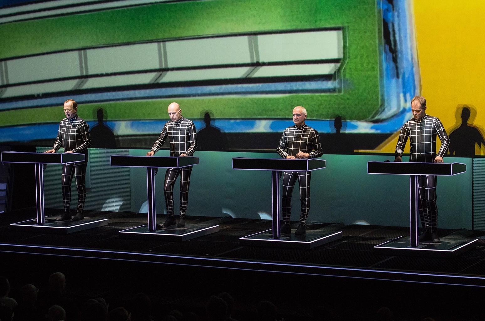 Kraftwerk perform in 2014