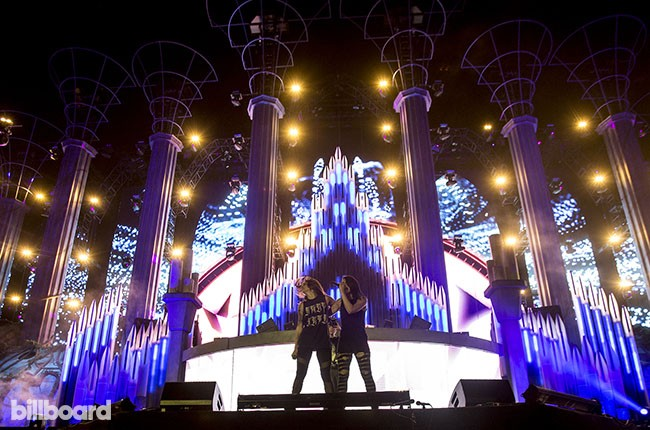 Krewella at Electric Daisy Carnival 2014