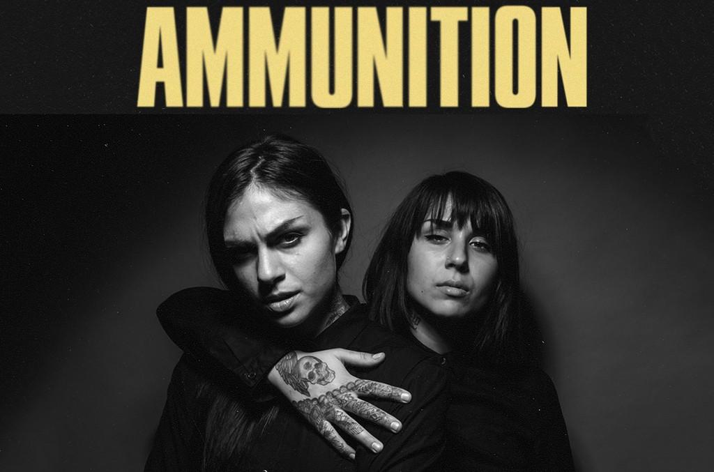 "Cover art for Krewella's ""Ammunition"""