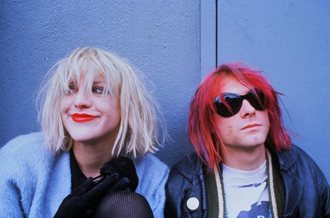 Kurt Cobain Courtney Love Montage of Heck