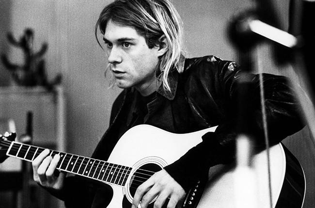nirvana Kurt Cobain recording in Hilversum Studios