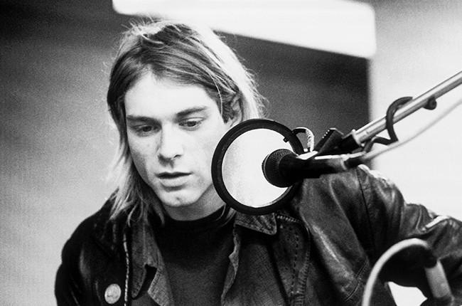 Kurt Cobain Recording Studio 1990s