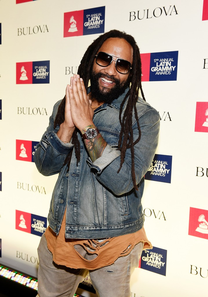 Ky-Mani Marley attends the gift lounge during the 17th annual Latin Grammy Awards at T-Mobile Arena on Nov. 14, 2016 in Las Vegas.