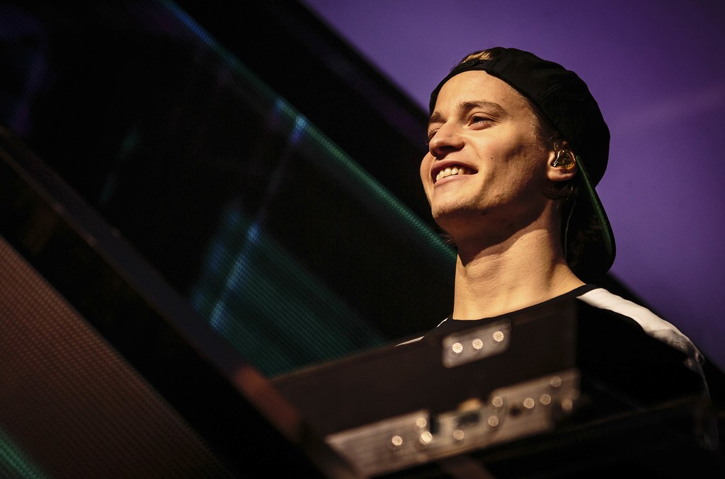 Kygo performs in 2015