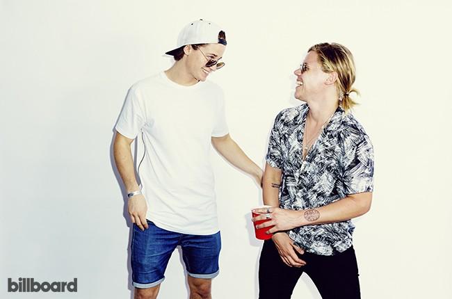 Kygo and Conrad Sewell Hot 100 Festival 2015