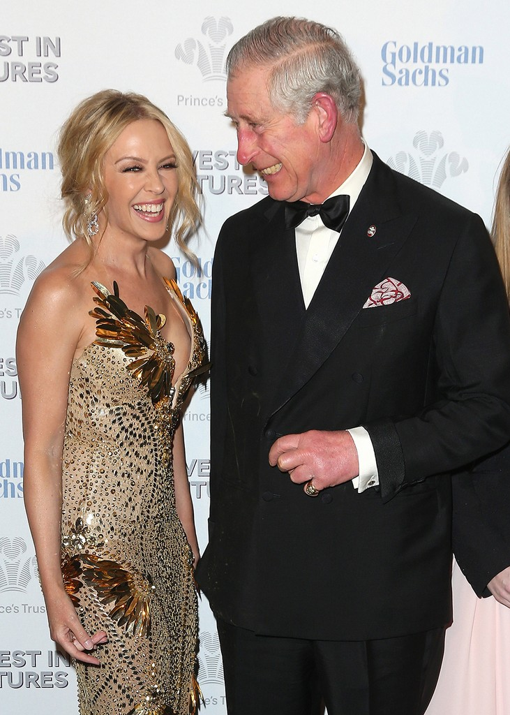 Kylie Minogue and Prince Charles