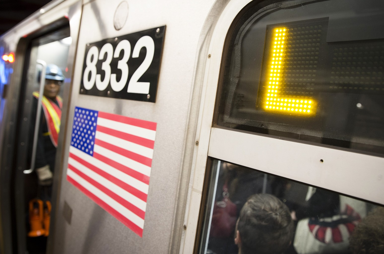 L-Train subway car