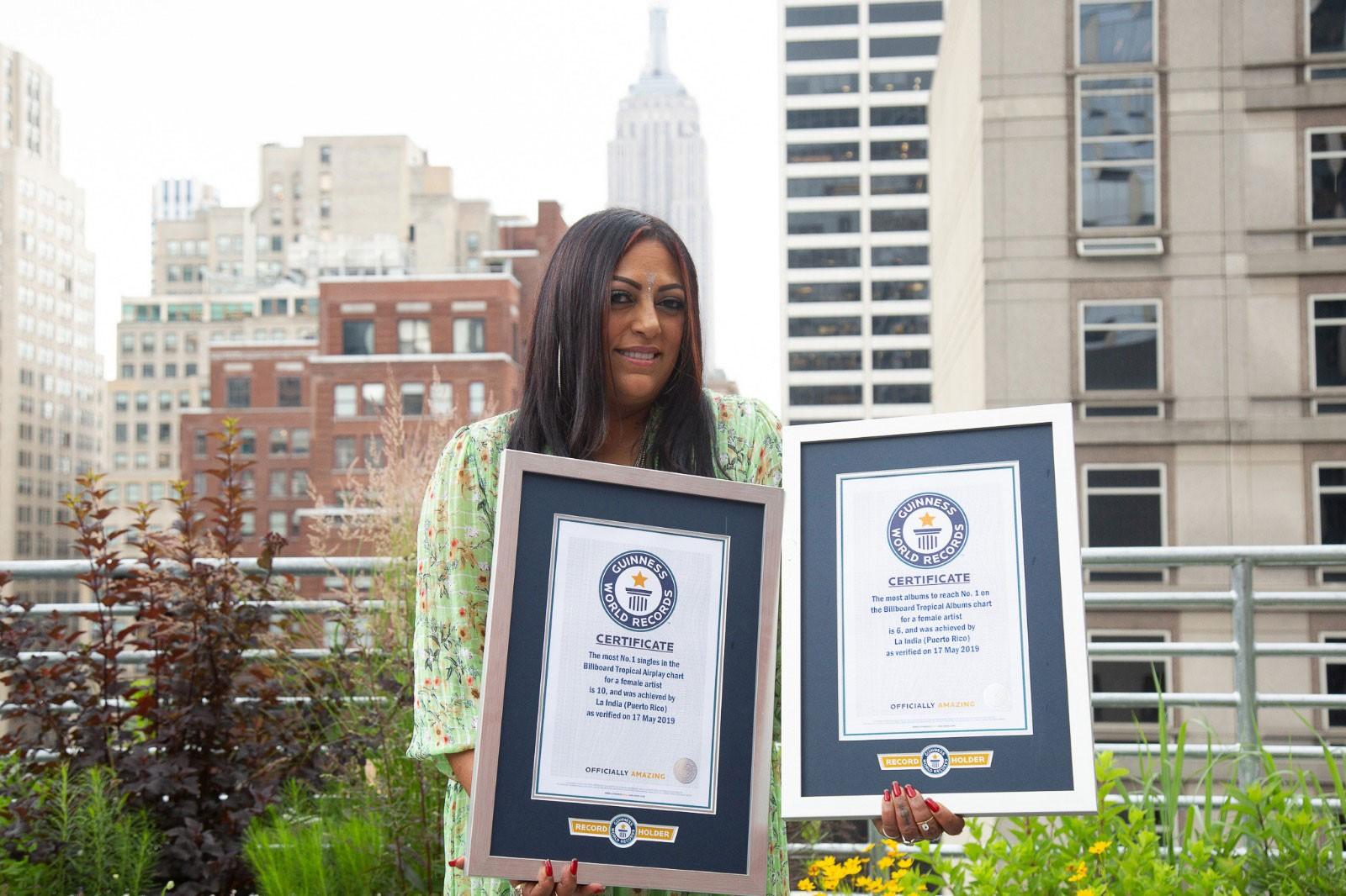 La India Guinness Records
