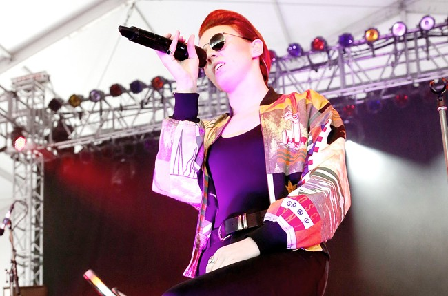 La Roux at Governors Ball