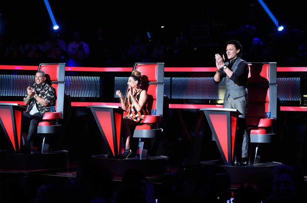 Daddy Yankee, Natalia Jimenez and Pedro Fernandez