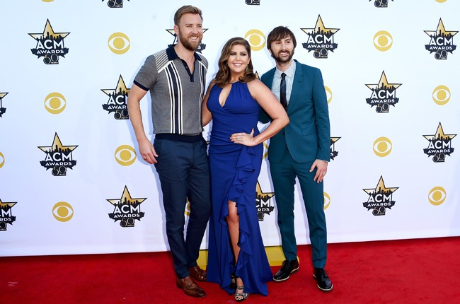 Lady Antebellum attend the 50th Academy Of Country Music Awards