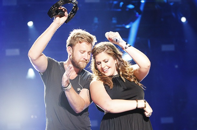 Lady Antebellum performs at the 2014 CMA Music Festival