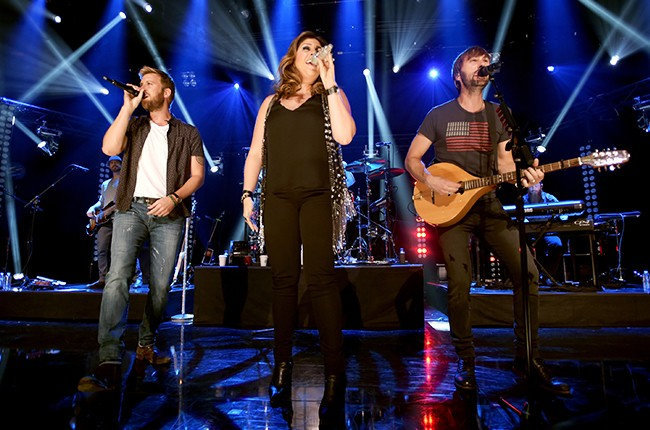 Lady Antebellum perform on The Honda Stage at the iHeartRadio Theater on June 29, 2015 in Burbank, California