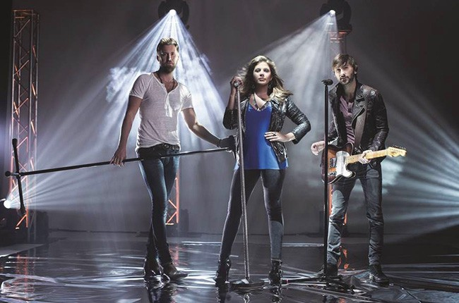 Lady Antebellum photographed in 2015.