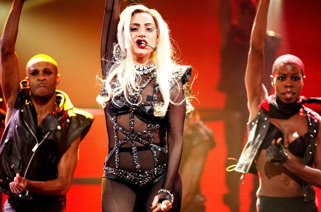 Lady Gaga performs in Las Vegas