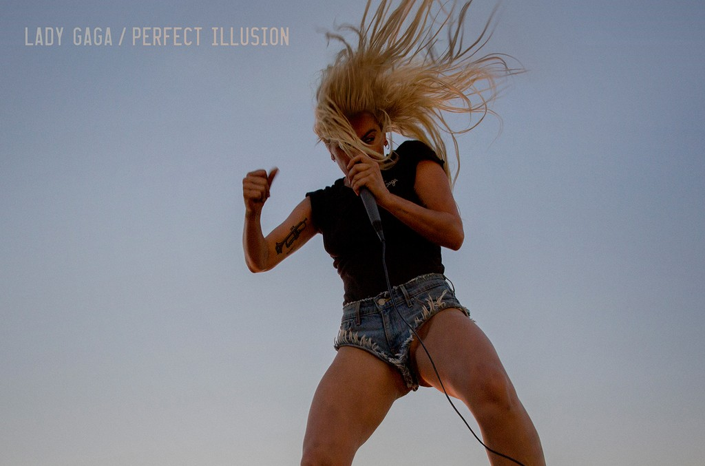 "Lady Gaga ""Perfect Illusion"""