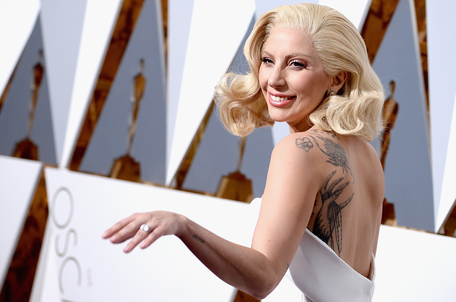 Lady Gaga attends the 88th Annual Academy Awards