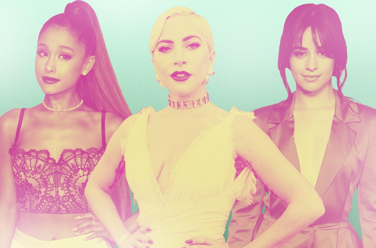Ariana Grande, Lady Gaga Camila Cabello