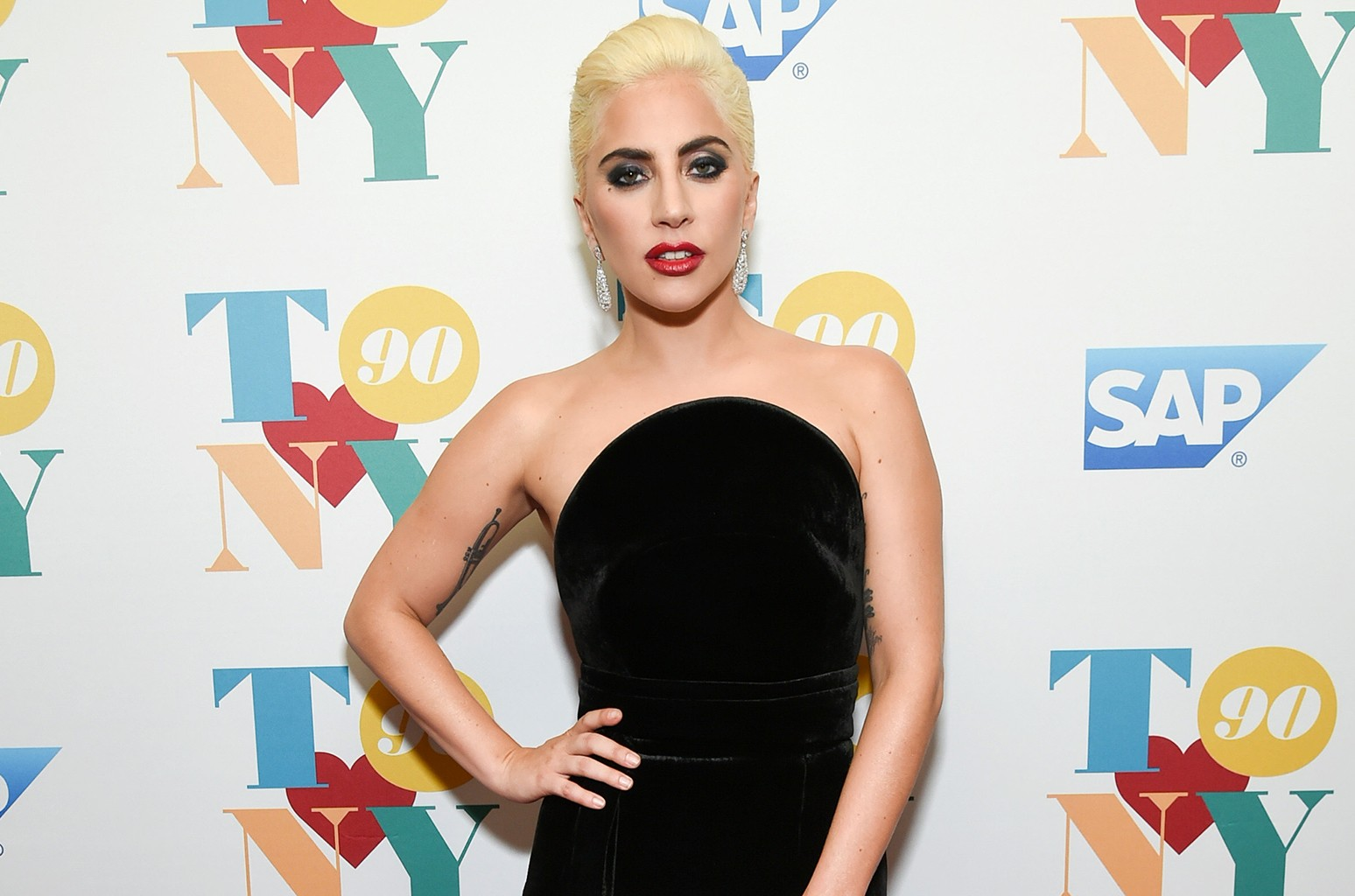 Lady Gaga at the Rainbow Room