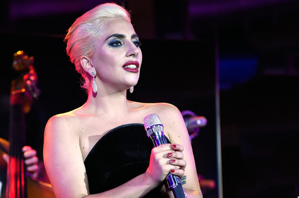 Lady Gaga performs in 2016